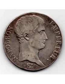 5 Francs Argent - Napoléon - Tête Nue