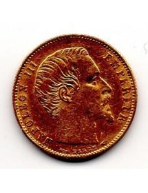 5 Francs Or - Napoléon III - Tête Nue