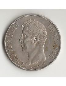 5 Francs Arg. Charles X