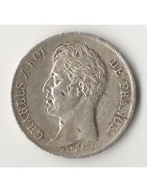 1 Francs Arg. Charles X