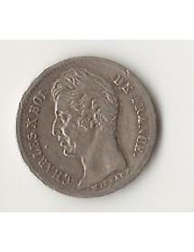 1/4 Franc arg. Charles X