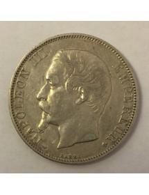 2 Francs Argent - Napoléon III - Tête nue
