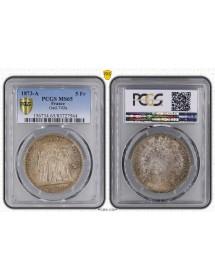 5 Francs Argent - Hercule - IIIème Pépublique
