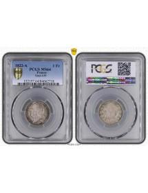 1 Franc Argent - Louis XVIII