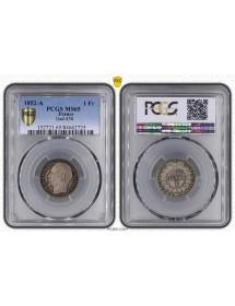 1 Franc Argent - Louis Napoléon
