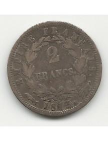 2 Francs Napoléon - 1813 Utrech