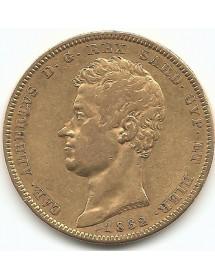 100 Lires - Charles Albert