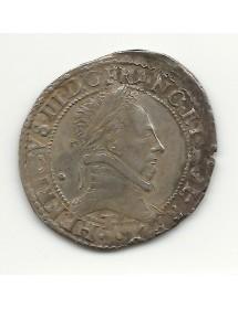 1/2 FRANC HENRI III - 1587 T