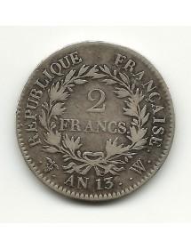2 Francs Napoléon Cal. Révolutionnaire