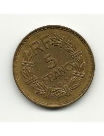 5 Francs Lavrillier - 1947