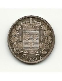 1 Franc - Louis XVIII - 1822 A
