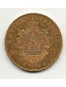 100 Francs Napoléon 1866A