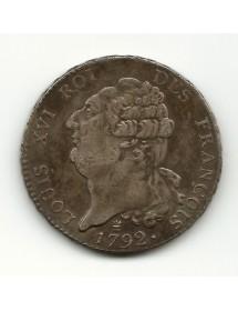 Ecu 6 Livres - 1792I
