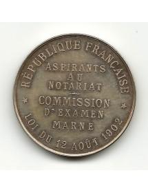 Aspirant Notaire - Marne - 1902