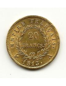 20 Frs Napoléon I  1813A