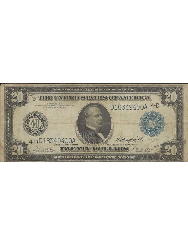 Twenty Dollars - Série 1914